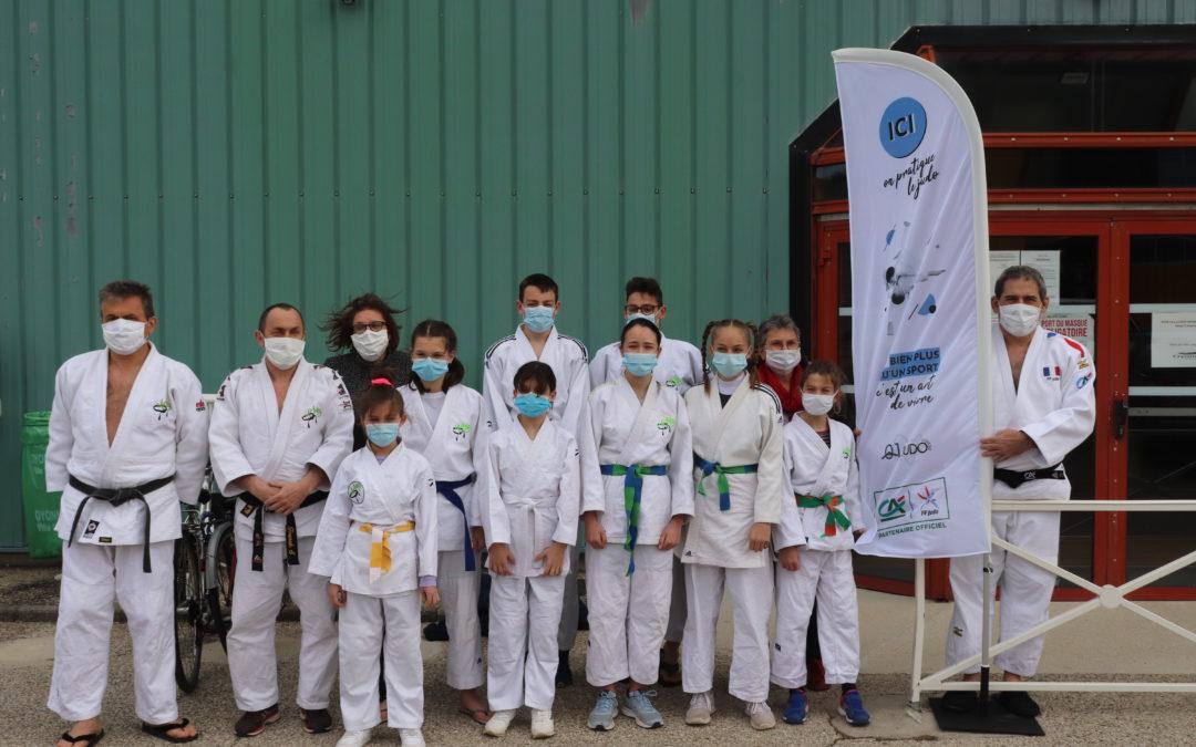Evènement sportif à Oyonnax : Le Judo suscite l'intérêt et organise son stage enseignant.