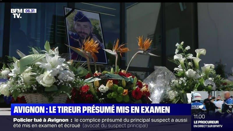 """Avignon: le meurtrier présumé d'Éric Masson mis en examen pour """"homicide volontaire sur personne dépositaire de l'autorité publique"""""""