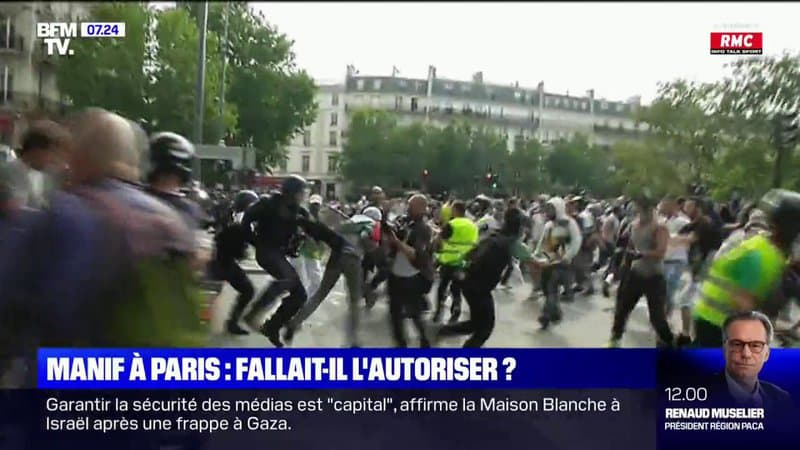 Rassemblement pro-Palestine: fallait-il autoriser la manifestation à Paris ?