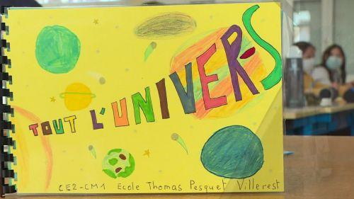 """On vous dit pourquoi la première école """"Thomas Pesquet"""" de France se trouve à Villerest, dans la Loire."""